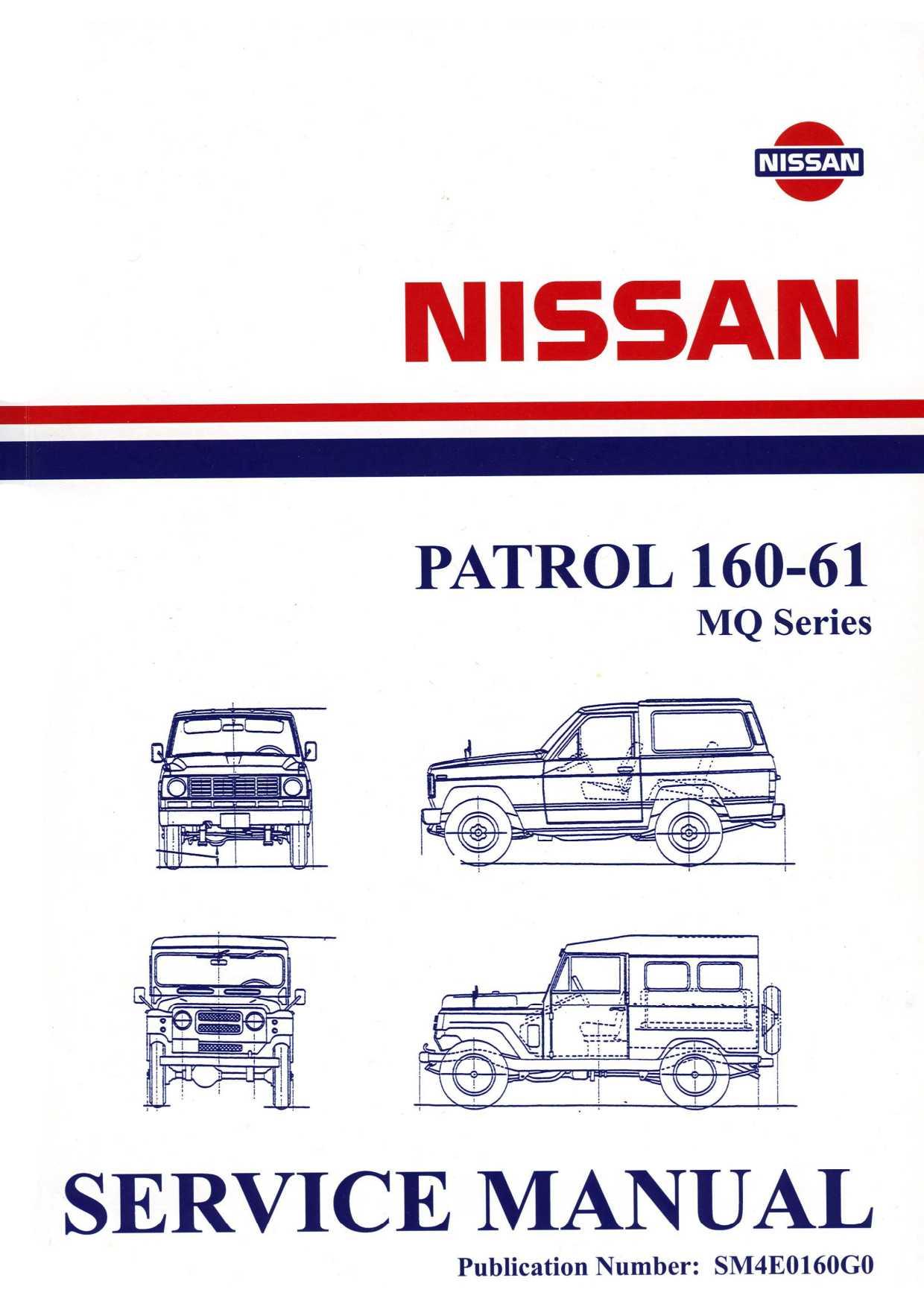 mq service manual 1980 mq patrol com rh mq patrol com Nissan Service Manuals PDF Nissan Manual Transmission Diagram